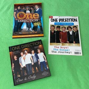 3 one direction books